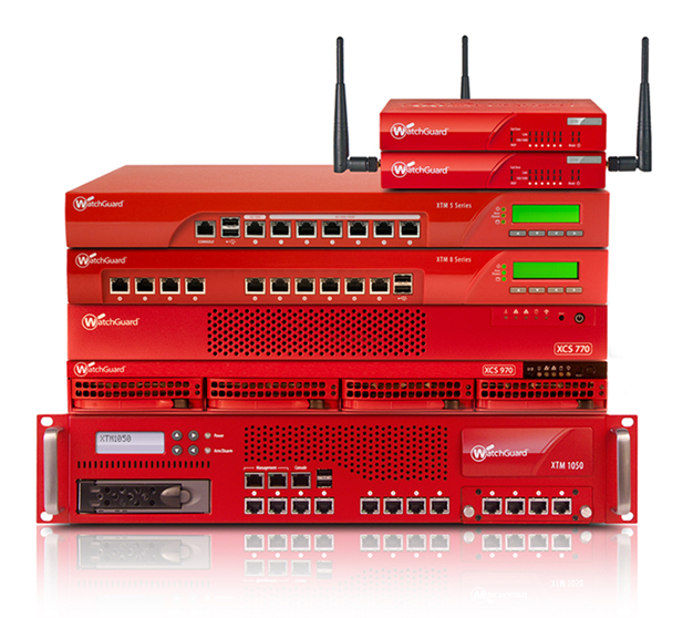 Watchguard mixed Stack